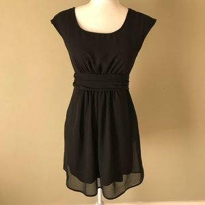 UO Pins & Needles Black Dress Small